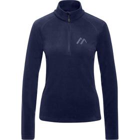 Maier Sports Greta Midlayer Women, azul